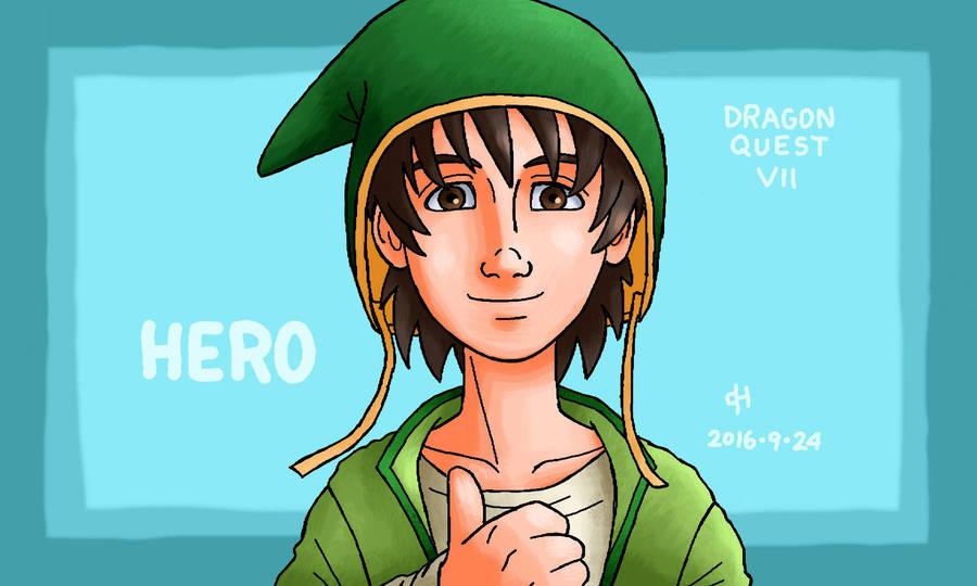 Dragon Quest, Hero by Cesar-Hernandez