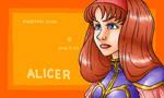 Phantasy Star, Alicer by Cesar-Hernandez