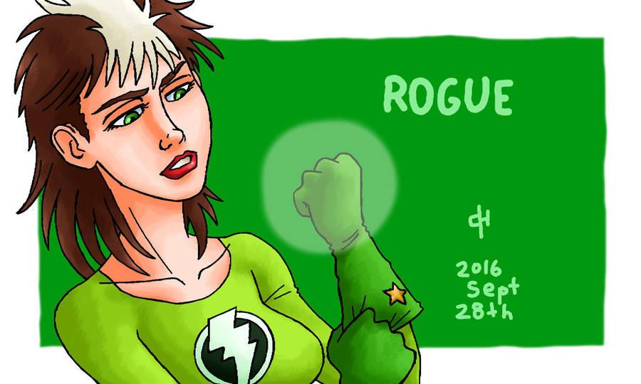 Marvel, Rogue by Cesar-Hernandez