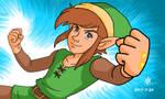 The adventure of Link by Cesar-Hernandez