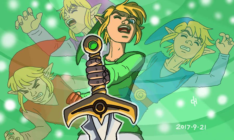 The Four Sword by Cesar-Hernandez