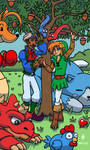 Cano and Link by Cesar-Hernandez