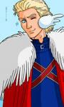 Commission 0033, Captain Britain by Cesar-Hernandez