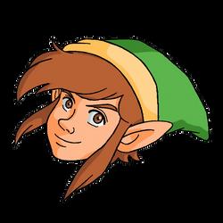 Stickers, The Legend of Zelda 001 by Cesar-Hernandez