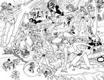 BnW New Mutants Forever by Cesar-Hernandez