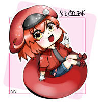 Red Blood Cell AE3803 by NeruenNg