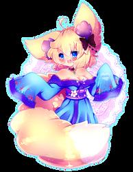 Kitsune girl by KotoNyan