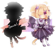 Nekomimi Adopts [SET PRICE|ONE LEFT] by ghostled