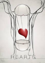 Hearts by oliviaariferiani