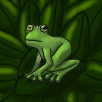 Frog color test thingy whateve by Catinshire