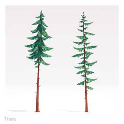 Tree concepts (POLYART) by NoNArtArtist