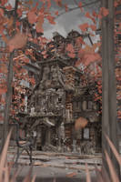 A desolated house by NoNArtArtist
