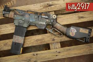 nerf slingfire zombie custom by billy2917