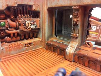 Raider wreck interior 1 by Eisenteufel