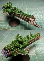 Overlord Class Battlecruiser by Eisenteufel