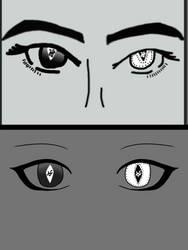 Ophelias eyes, fanart by EeveeXora