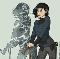 Asha Greyjoy by Lauren-Oh