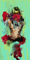 Girl's Torso + Florals by Maxeroo