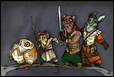 Redwall: The Furs Awakens. by FortunataFox
