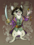 Commission - Long live the captain! by FortunataFox