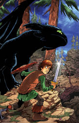 How to Train Your Dragon Cover colors by DustinEvans