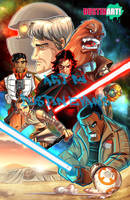 Star Wars The Force Awakens by DustinEvans