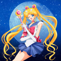 Sailor Moon Crystal fan art by mornie-art
