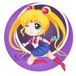 Sailor Moon Chibi by mornie-art