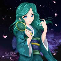 Yukata Matsuri. Michiru. Neptune by mornie-art