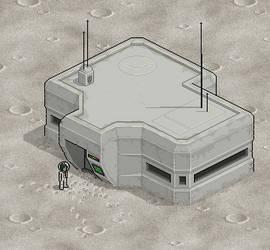 Lunar Bunker by celinh0