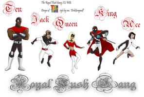 Full Royal Flush Gang TT style by DickGraywolf