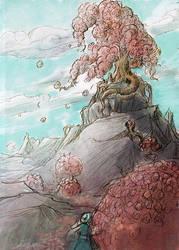 Flufftree by WanderingInPixels