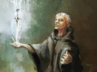 dagger spell by WanderingInPixels