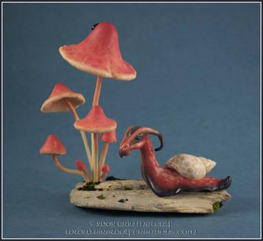Dragon Snail : Kinoko by EirewolfCreations