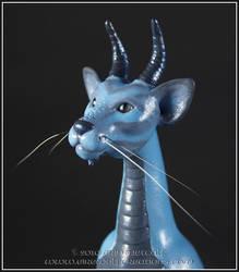 Felis Draconis Closeup by EirewolfCreations