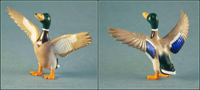 Joyful Duck by EirewolfCreations