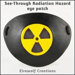 See-Through Radiation Hazard eye patch by EirewolfCreations