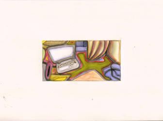 Schreibtisch. by Ivi-Green