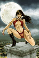 Vampirella 01 Cover Colors by FabianoNeves