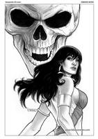 Vampirella 20 Cover Art by FabianoNeves