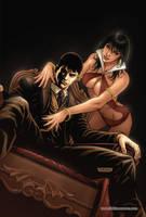 Dark Shadows Vampirella 04 Cover Colors by FabianoNeves