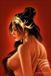 Dejah Thoris 33 Cover colors by FabianoNeves