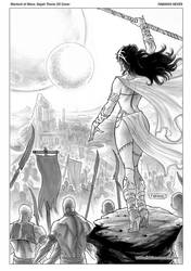 Dejah Thoris Cover inks 35 by FabianoNeves