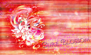 Cure Blossom Heartcatch by AinoWallen