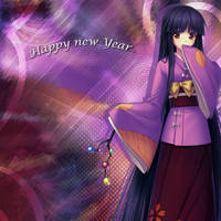 A quick new year card by AinoWallen