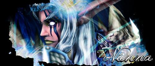 Nienna Banner by AinoWallen