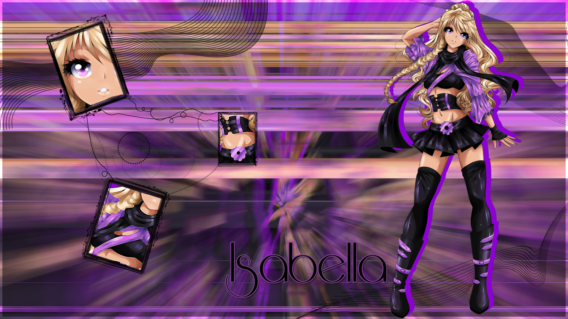 Gift: Isabella Wallpaper by AinoWallen