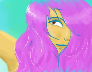 Purplehair by RedIzaya