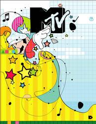 Mtv magazine cover by rubenslp