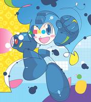 Megaman by rubenslp